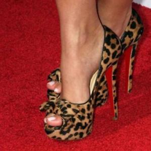 Womens-Sexy-High-Heels-Leopard-Pumps-Peep-Toe-Platform-Stiletto-Shoes-Nightclub