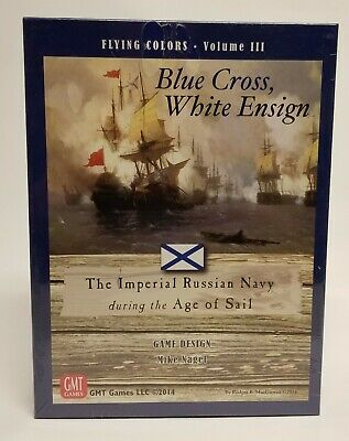White Ensign The Imperial Russian Navy during Age of Sail GMT Games Blue Cross