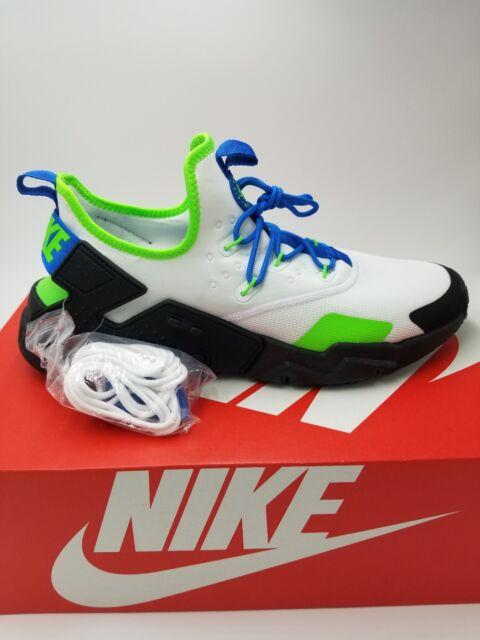 Nike Air Huarache Drift Men s Shoes White Black Blue Nebula AH7334-102 Size 90f5fdd4a