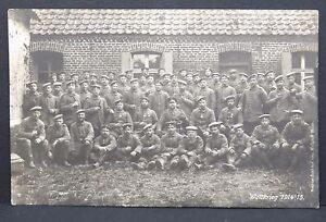 World-War-Group-Photo-Many-Order-Military-Soldiers-Ak-Postcard-Lot-I-3306
