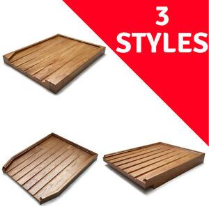 Angled-Wooden-Draining-Board-Belfast-Sink-Butler-Drainer-Solid-Oak-Wood