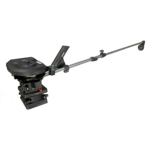 "Scotty 1106 Depthpower Electric Downrigger 60"" Telescopic Boom Swivel Rod Rods"