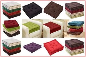 Chunky-Adult-Booster-Cushion-Thick-Seat-Pads-Adults-Chair-Armchair-Multi-Colours