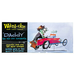 Hawk Model Company Weird-Ohs Daddy the Way Out Suburbanite Monster Model Kit