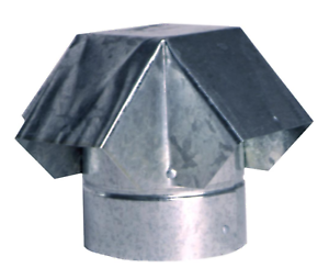 Exhaust Flow Vent Cap 4 Quot Pipe Roof Steel Round Duct Rain