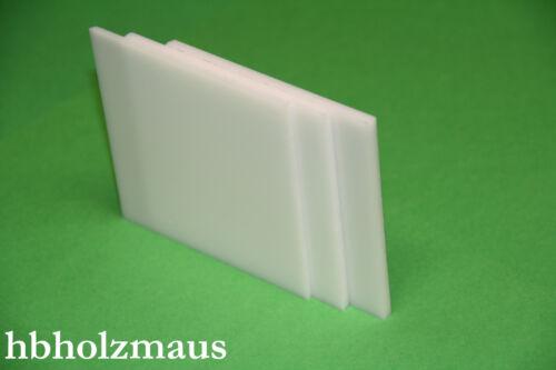 5 mm PLEXIGLAS® XT weiß WN297 Zuschnitt  Größe wählbar 73,99€//m²