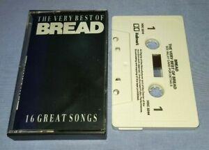 BREAD-THE-VERY-BEST-OF-BREAD-cassette-tape-album-T8376