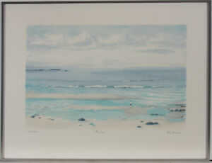 Joy-Brand-Signed-amp-Framed-Contemporary-Lithograph-The-Sea