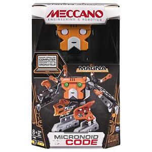 Meccano-Robot-MAGNA-20092620-6040127-Robot-Building-KIT-Orange-FAST-SHIP
