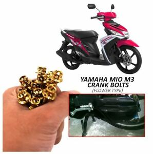 Details about YAMAHA M3 Gold Bolts Thailand Motor Parts
