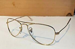 75c308bae5b81 Ray-Ban Jr Aviator Gold Sunglasses Frames RJ9506S 223 71 (Frames ...