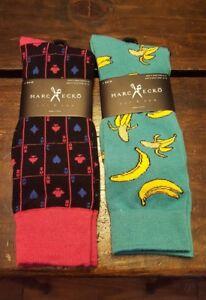 Marc Ecko Cut & Sew Lot of 2 Dress socks