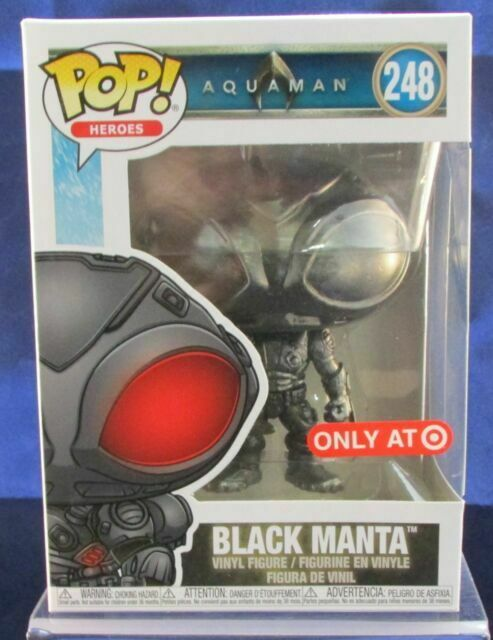 DC Heroes IN STOCK Funko POP Aquaman Movie: Black Manta Figure #248