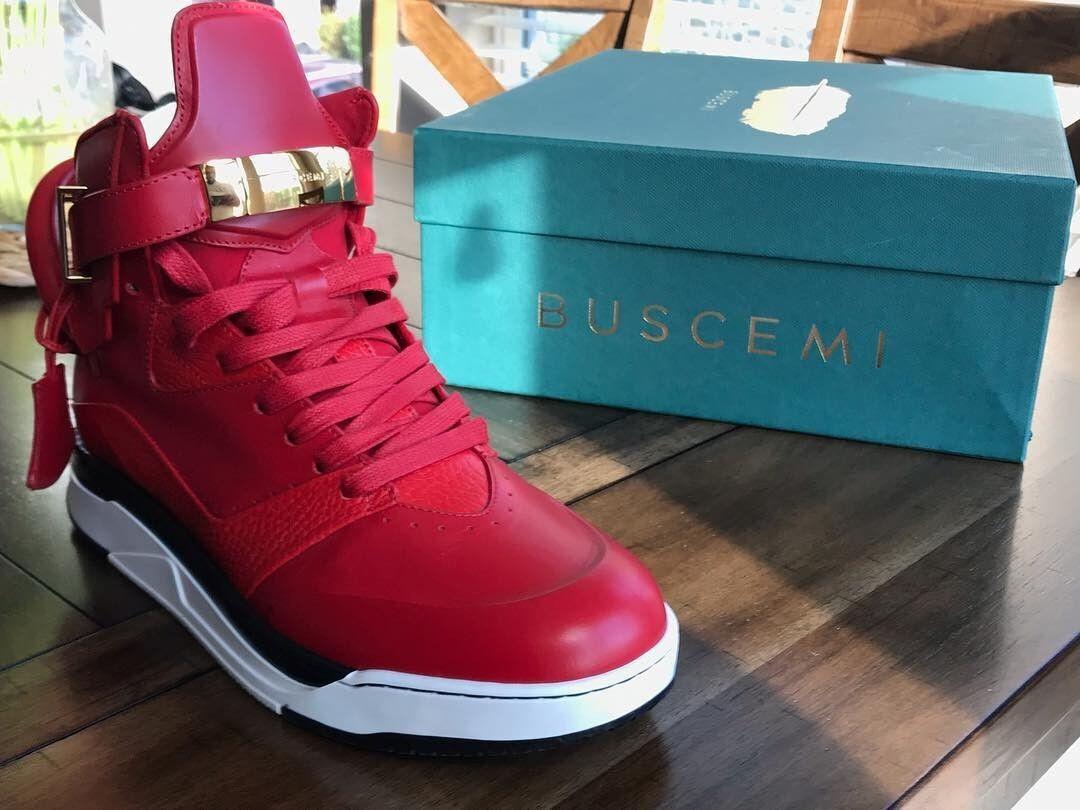 BUSCEMI B-COURT   TRUE RED MEN'S 41 (US Size 9-9.5)