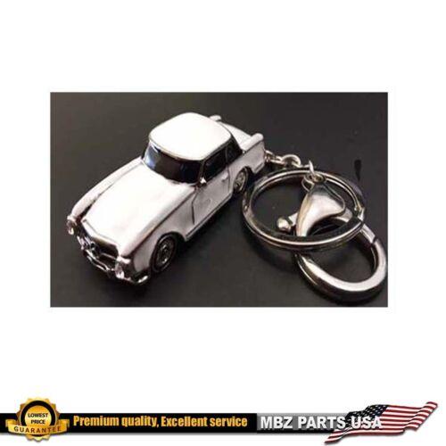 MERCEDES BENZ SL W113 KEY CHAIN WHITE LIMITED EDITION GIFT 280SL 230SL 250SL NEW