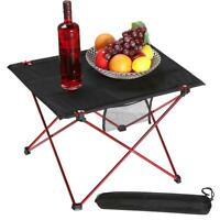 Ultra-light Portable Folding Aluminum Roll Up Table Camping Outdoor Picnic US