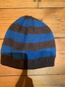 Little-Joules-Boys-Blue-And-Grey-Striped-Hat-Age-6-Months