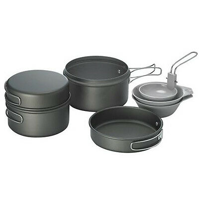 Kovea Solo 2 Cookset Outdoors Kopel  Hard Anodize Coated 1~2People for Camping