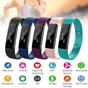 Children-Adult-Smart-Bracelet-Watch-Fitness-Activity-Tracker-Monitor-Pedometer