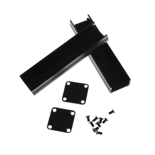 100*25*25mm Extruded PCB Aluminum Box Black Enclosure Electronic Project Cas/_yk