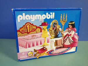 O4253 Playmobil Chambre Princesse En Boite 100 Complete Ref 4253