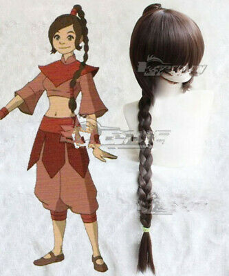 Avatar The Last Airbender Mai Black Anime Cosplay Hair Wig Styled party wigs