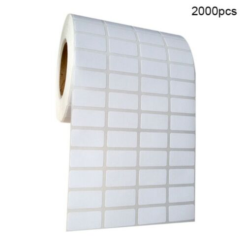 20mmx10mm White Blank Self Adhesive Sticker Printing Label Roll Labelling