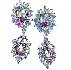 Chandelier-Earrings-Rhinestone-AB-Crystal-3-inch