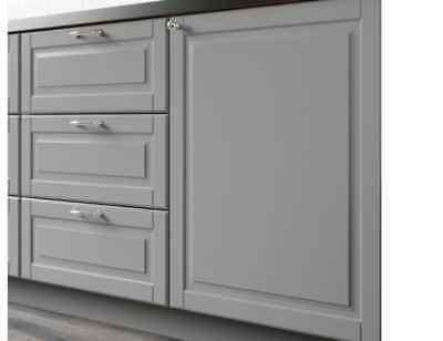 Ikea Bodbyn Gray Kitchen Cabinet Drawer Front 30 X 13 Ebay