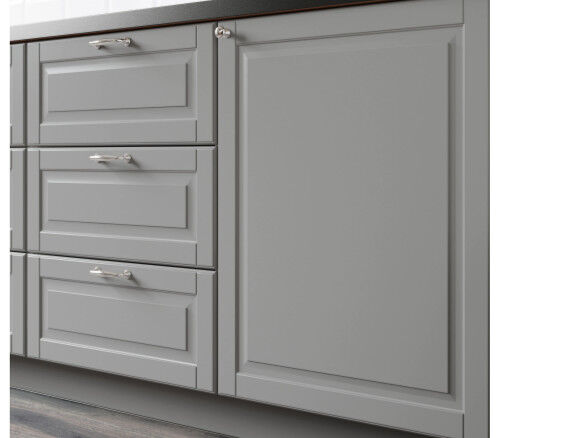 Ikea Bodbyn Gray Kitchen Cabinet Door Front Drawer Fronts For Sale Online Ebay