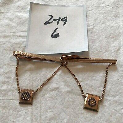 Lion/'s Club International Tie Clip Vintage Silver Lion/'s Club Tie Tack Vintage Tie Bar