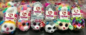 TY-Beanie-Boos-Fashion-Slipper-Socks-with-Heart-Tags-NEW