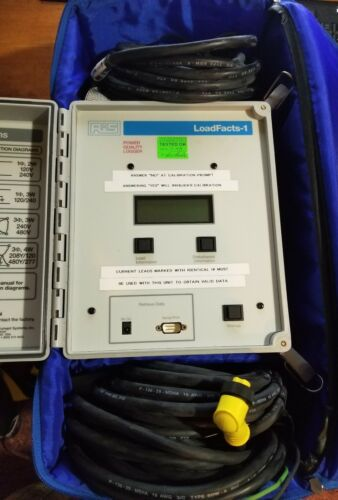 LoadFacts-1 LF-1 Brand NEW Power Quality Logger RIS