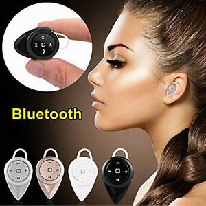 mini kopfh rer bluetooth stereo ohrh rer headset mit mic. Black Bedroom Furniture Sets. Home Design Ideas
