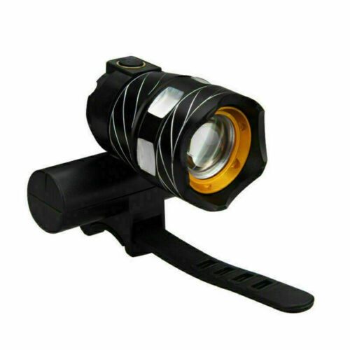 USB Headlight Headlamp Front Bicycle Bike Light Rechargeable Cycling Waterproof
