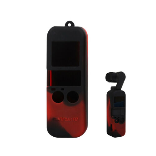 Hot Protective Silicone Cover Case With Lanyard Protector For DJI OSMO Pocket C5