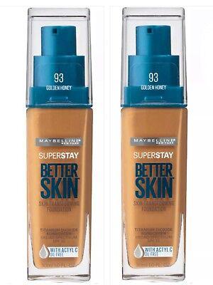 Maybelline SuperStay Better Skin Foundation - BLONDIE