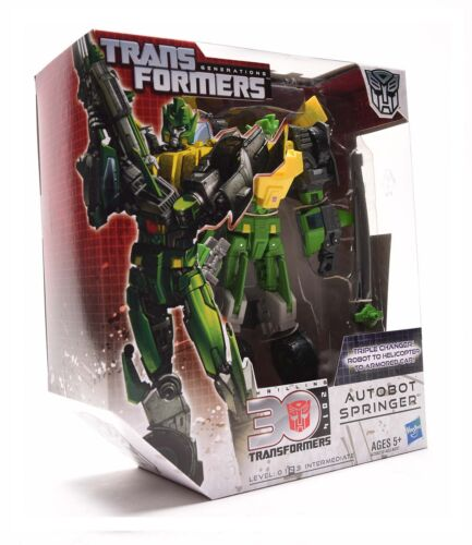 Transformers Generations Action Figure IDW Voyager SPRINGER 30th Anniversary