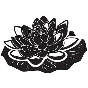 Das Bild Wird Geladen Seerose Wandtattoo Wasser Blume Pflanze Badezimmer Wohnzimmer Deko