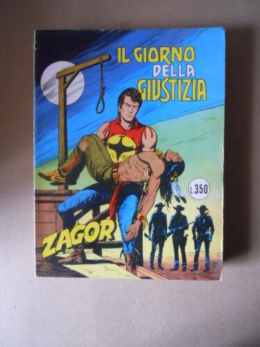 Zagor Zenith n°172 Bonelli G910