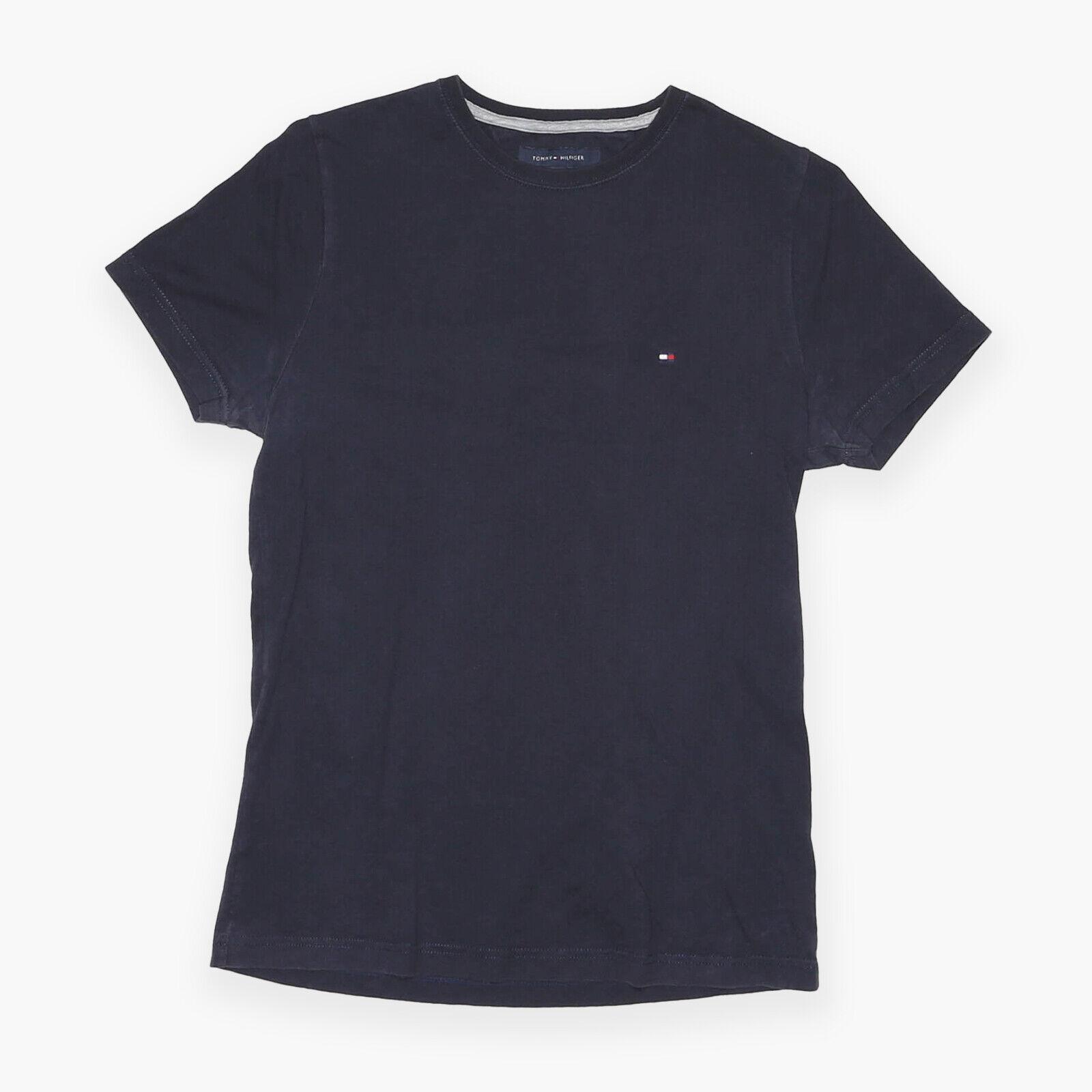 TOMMY HILFIGER Blue Regular Short Sleeve T-Shirt Mens S