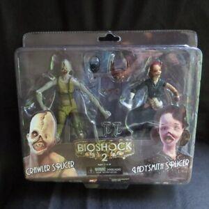 Bioshock-2-Ladysmith-amp-Crawler-Splicer-7-034-Action-Figure-2-Pack