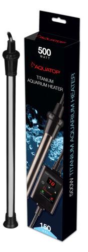AQUATOP Titanium Heater with Controller 500 WATT  TH-C500