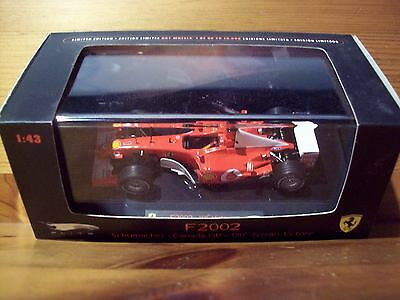 1/43 Mattel Elite Ferrari F2002 Michael Schumacher Canada Gp 150th Vittoria Ferrari-mostra Il Titolo Originale Sconto Del 50