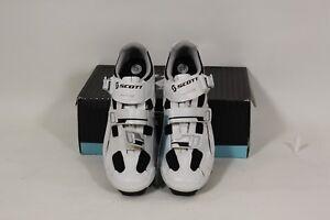 Scarpe per bicicletta da corsa colore nero//bianco da donna Scott Road Pro