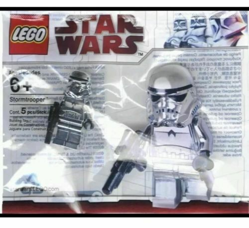 LEGO STAR WARS - Chrome Stormtrooper Polybag - New factory sealed, Unopened.