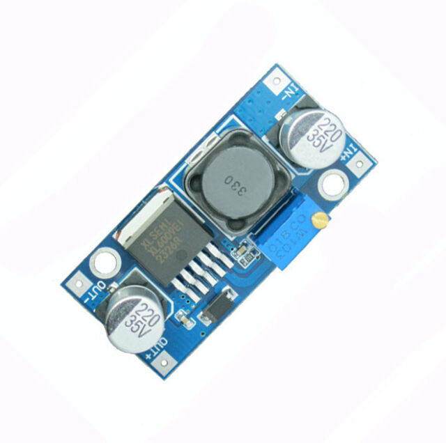 2Pcs XL6009 DC-DC Adjustable Step-up boost Power Converter Module Replace LM2577