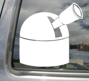 Ground-Telescope-Astronomer-Astronomy-Car-Window-Vinyl-Decal-Sticker-10141