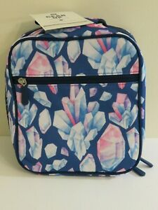 Pottery Barn Kids Gear Up Classic Lunch Bag Crystals New