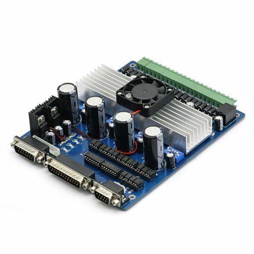 New 4 Axis CNC Router TB6560 Stepper Motor Driver Board Controller